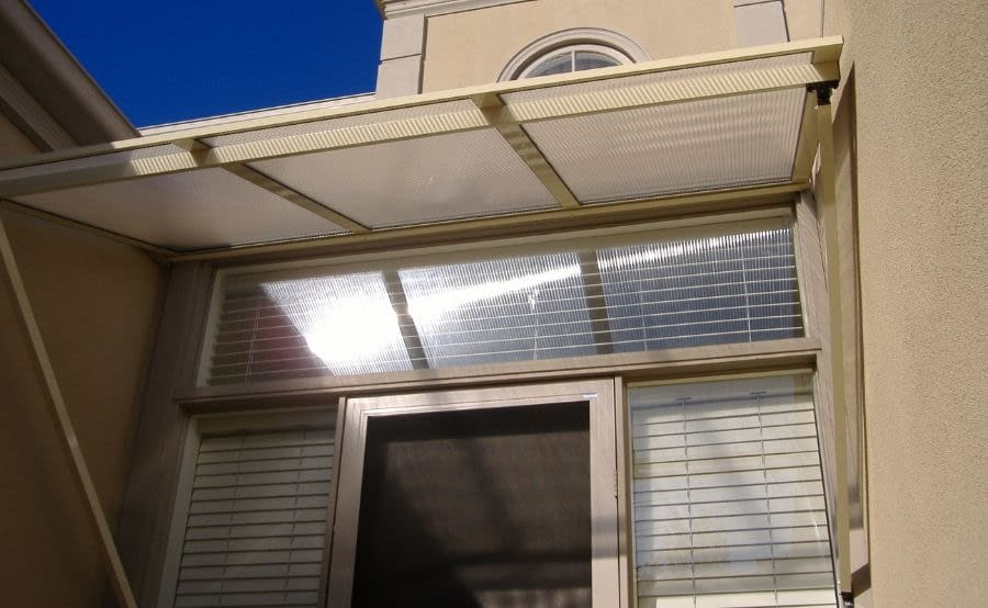 Polycarbonated Awning A1