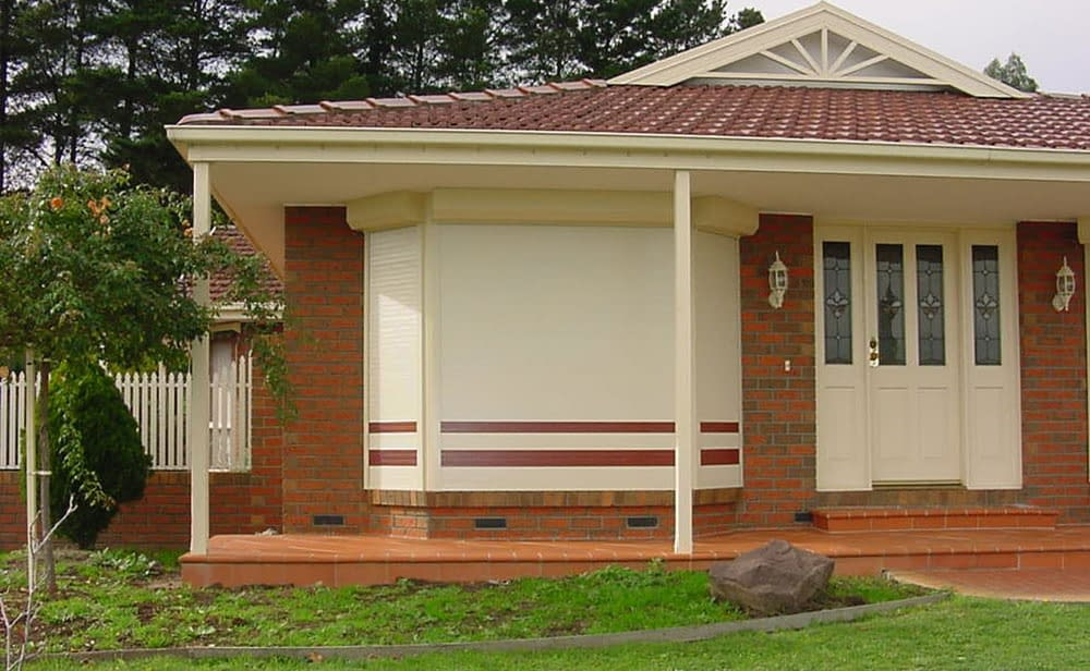 image of roller-shutter-front house